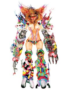 Upper Playground – Poster Series by David Choe | FreshnessMag.com