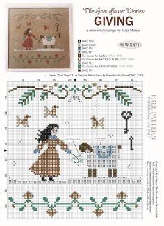 A cross stitch design by Maja Maryan