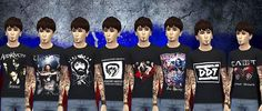 Mod The Sims - Search Results for punk