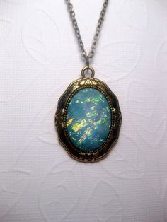 Hey, I found this really awesome Etsy listing at https://www.etsy.com/listing/450439964/galaxy-turquoise-pendant-necklace
