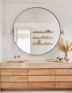 Beautiful bathroom decorating tips. Modern Farmhouse, Rustic Modern, Classic, light and airy master bathroom design some tips. Bathroom makeover a couple of tips and master bathroom remodel recommendations. Bathroom Trends, Bathroom Inspo, Bathroom Interior, Home Interior, Bathroom Inspiration, Bathroom Ideas, Bathroom Organization, Bath Ideas, Bathroom Designs