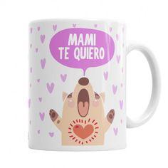 Pack Regalo Mamá Te Quiero  Incluye una Taza Personalizada con el Nombre de Mamá y de Quienes la regalan + Chocolate Deluxe de #Utopick + Caja Regalo [Exclusivo La Cesta Mágica]