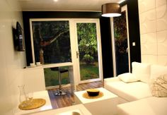 Salon Rubiloft 24 m2 Oversized Mirror, Windows, Furniture, Home Decor, Living Room, Bed Room, House, Decoration Home, Room Decor