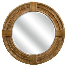 One Kings Lane - Seaside Style - Duncan Wood Mirror