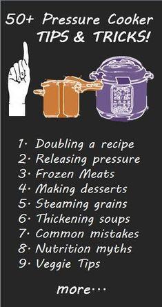 Pressure Cooker Tips & Tricks #christmastips&tricks