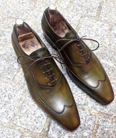Caulaincourt shoes - White - kaki