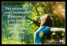 Salmos 141:2  Sea mi oración como incienso en tu presencia, y mis manos levantadas, como ofrenda de la tarde.  Nuestra oración es como el perfume, su olor sube hasta la presencia de Dios.  Cada uno tenemos un aroma unico que nos identifica con el Padre.  Tener una vida de oración nos ayudará en cada aspecto de nuestras vidas ~ Pues ten la seguridad de que Dios estará en medio de ellas.  Tener una vida hermosa, plena y abundante no se obtiene solo con desearla: es construida diariamente con…