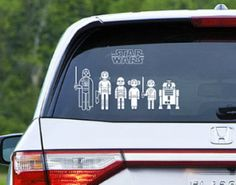 Gifts for Him: Star War Car Decals / Stickers @ Think Geek