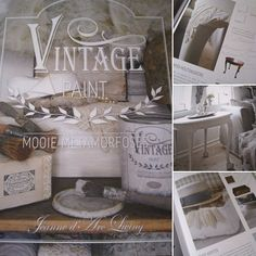 Boek: VIntage Paint van Jeanne d'Arc Living