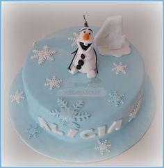 Virginias Cake: Tarta Olaf Alicia