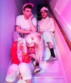 paramore, hayley williams, and zac farro image