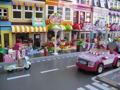 Close up of Friends Modular Street by Kristel