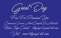Great Day Schriftart | dafont.com