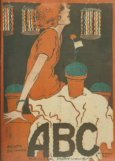 Stuart Carvalhais, ABC magazine cover, No. 49, June 16 1921 | Flickr - Photo Sharing!