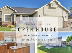 Adorable home in Boise for under $195K! 1,525 square feet, 3 Bed, 2 Bath, and a brick framed fireplace. Open House this Saturday so don't miss it!
