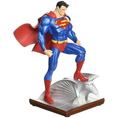 BLOG DOS BRINQUEDOS: DC Collectibles Superman Mini Statue