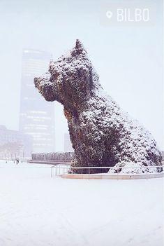 Invierno en Bilbao.