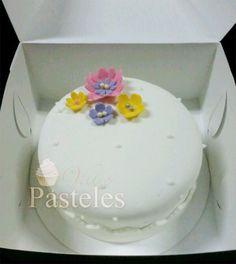 Flower elegant mini cake!
