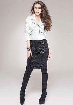 bebe   Sequin Midi Skirt - View All