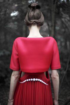 """Oni"" dress, designed by Robert Wun, London College of Fashion, 2011"