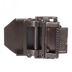 レディースメンズ合金ベルトバックル軍事ウエストバンドベルトバックル無地ヴィンテージデザイン7 × 5センチ新しい