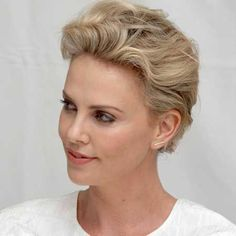 charlize theron short hair 2015 - Google Search