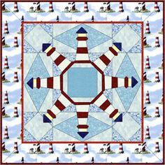 lighthouse quilt- if we ever had a cabin