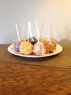 Rustic cake pops :-/