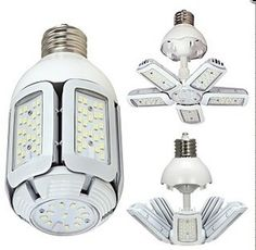 Satco LED Bulb - HID Replacement; 5000K brightness; Medium base E26;30W/40W/60W; 100-277 volts. Available now! http://ift.tt/2gS07ec