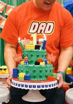 Lego Birthday Cake for my Twins!! ❤❤