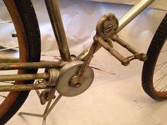 1890's Orient Shaft Drive Nickel Plate Bike Wood Rim | eBay Vintage Cycles, Vintage Bikes, Old Bicycle, Commuter Bike, Car Wheels, Cool Bikes, Cannon, Plates, Ann Arbor