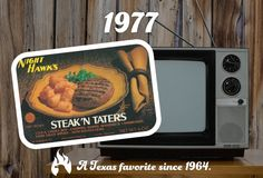 What was on your TV in 1977? #Food #Dinner #Meal
