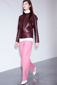 Céline fall 2012 rtw- bizarre colour pairing that's hard to look away from