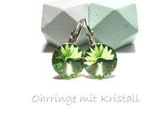 Ohrringe grün von DeineSchmuckFreundin - Schmuck und Accessoires auf DaWanda.com