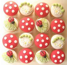 Cupcake Coccinelles