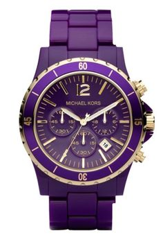 Purple & Gold Michael Kors???? Sign me up