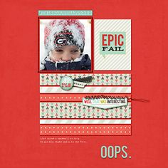 Digital Scrapbook page using Real Life in Pockets Collab - Candid Collection by Just Jaimee