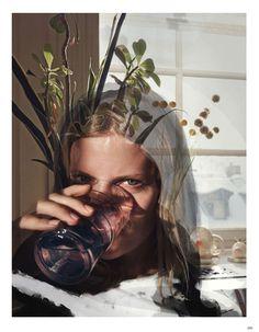Benny Horne. Julia Stegner, Vogue Germany, May 2014. [Pinned 23-i-2016]
