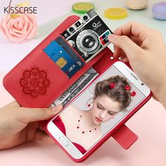 Cheap leather phone case, Buy Quality case for samsung galaxy directly from China case for samsung Suppliers: KISSCASE Embossed Flower Wallet Case For Samsung Galaxy Plus Card Holder Leather Phone Cases For Samsung Galaxy Edge Samsung Galaxy S6, Galaxy S8, Iphone Wallet Case, Phone Cases, Leather Phone Case, Travel Light, Feathers, Dream Catcher, Card Holder