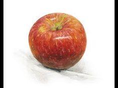 [기초수채화] 자세한 설명으로 배우는 수채화로 사과그리기. How to paint apple with watercolor. - YouTube Fruit Painting, High School Art, Pastel Art, Art Tutorials, Still Life, Art For Kids, Art Drawings, Sketches, Watercolor