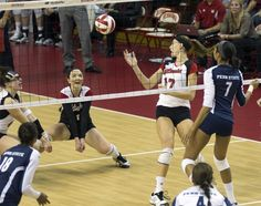 Husker volleyball team gutted out a five-set victory over No. 1 Penn State  dykstra