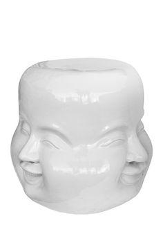 Four Face Ceramic Stool on HauteLook