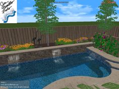 Pool Idea For Small Yard. But Iu0027d Want At Least Long Enough To