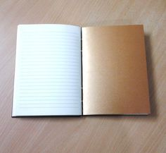 White and bronze paper. I like it.