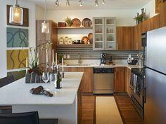 photo d'ilot de cuisine en l ouverte
