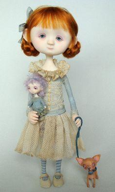 Jenny - Original doll by Ana Salvador