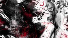 Happy Valentine Day: Grunge Desktop Wallpapers