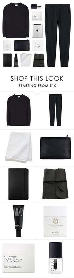 """""""the sound"""" by kiiaa ❤ liked on Polyvore featuring Acne Studios, Thakoon, CB2, Moleskine, Make and NARS Cosmetics"""