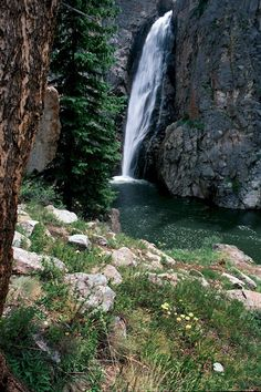Porcupine Falls, WY   © Marsha K. Russell
