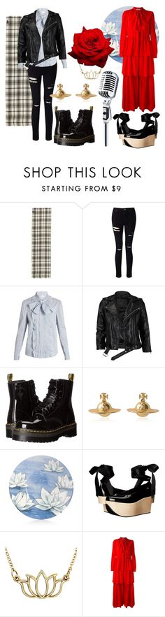 """""""Nana"""" by nover ❤ liked on Polyvore featuring Franco Ferrari, Miss Selfridge, RED Valentino, VIPARO, Dr. Martens, Vivienne Westwood, Michael Aram and Sonia Rykiel"""